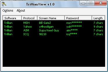What's My Pass? » Trillian