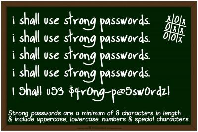 PasswordChalkBoard